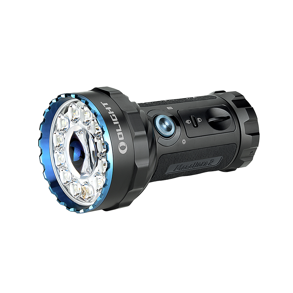 Olight Marauder 2 Max 14000 Lumens Rechargeable Tactical LED Torch Black