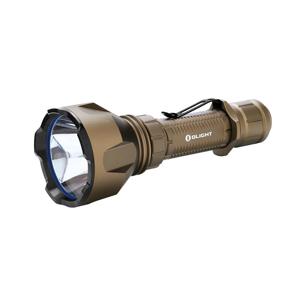 Olight Warrior X Turbo Desert Tan 1100 lumens Hunting LED Torch