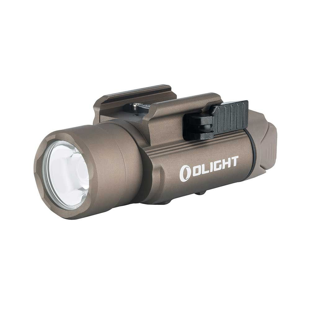 Olight PL-Pro Valkyrie 1500 lumen rechargeable pistol or rifle light-Desert Tan