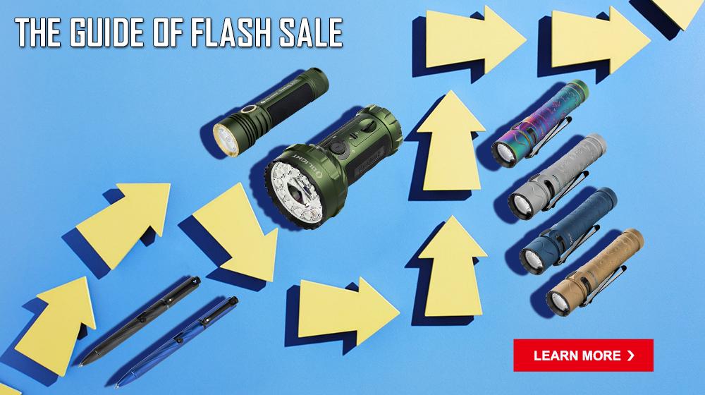 Olight Australia 02/09/2021-03/09/2021 Flash Sale