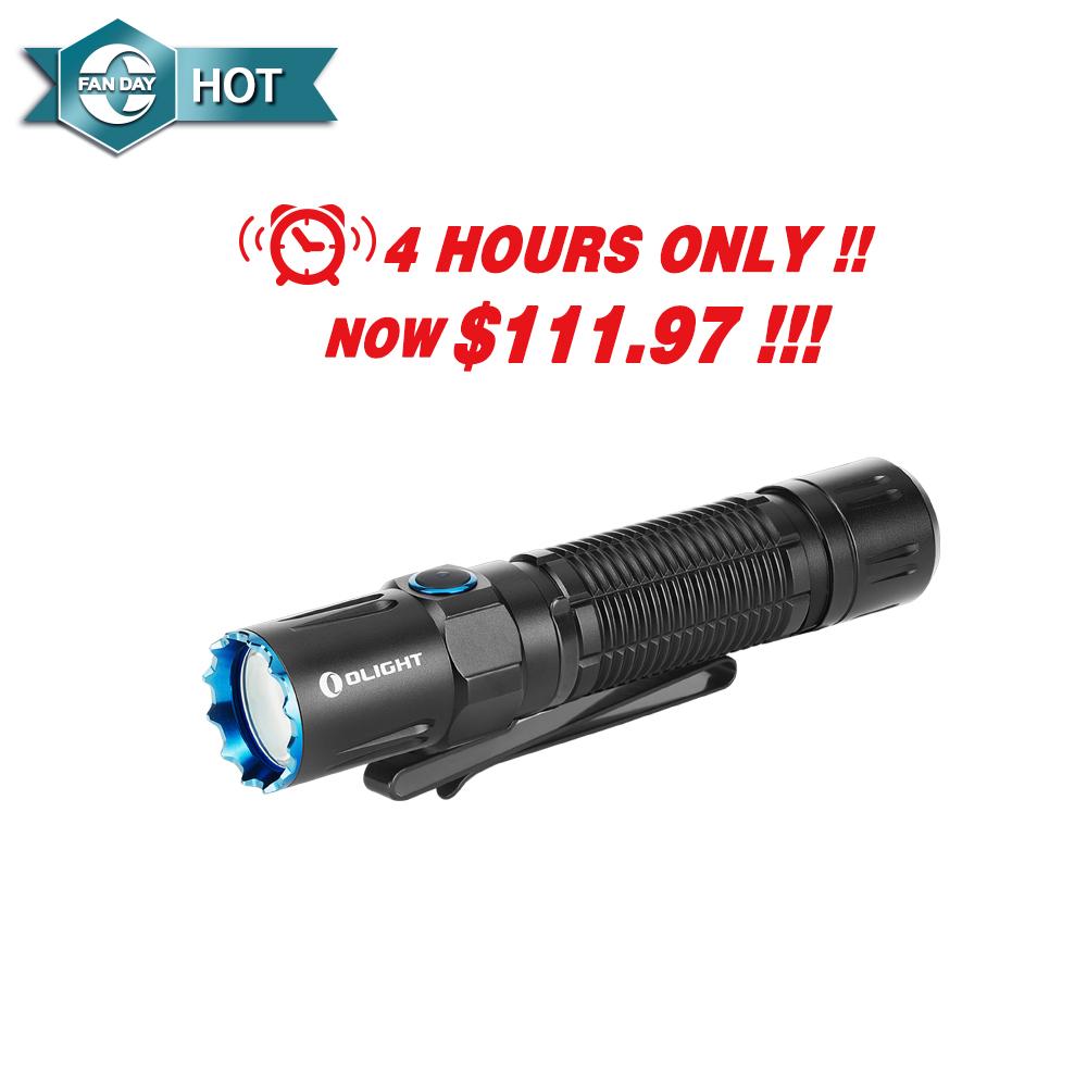 Olight M2R Pro 1800 lumen 300m rechargeable tactical LED torch