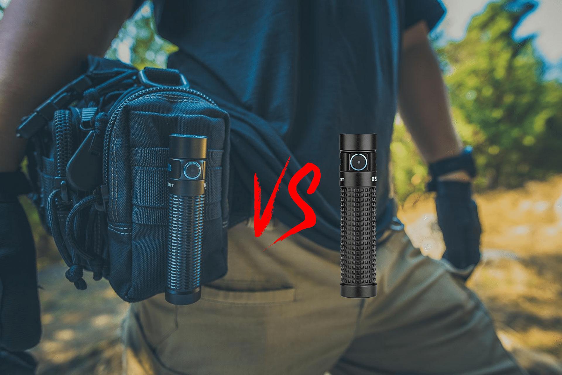 Warrior Mini VS S2R Baton II Pocket Flashlight