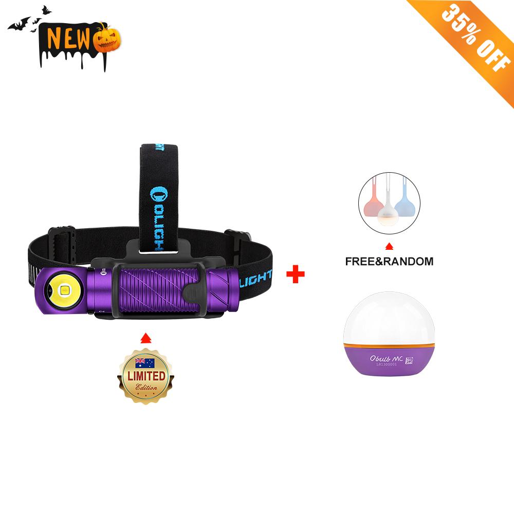 Olight Perun 2 Purple + Obulb MC Purple+ Free Random Osling