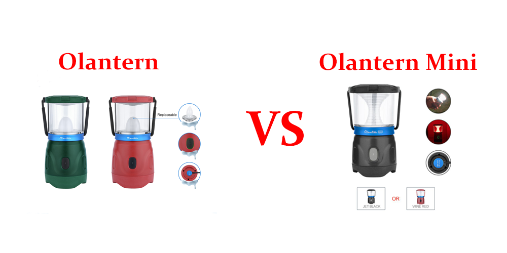Olantern VS Olantern Mini: Which One is a Better Compact Outdoor Light?