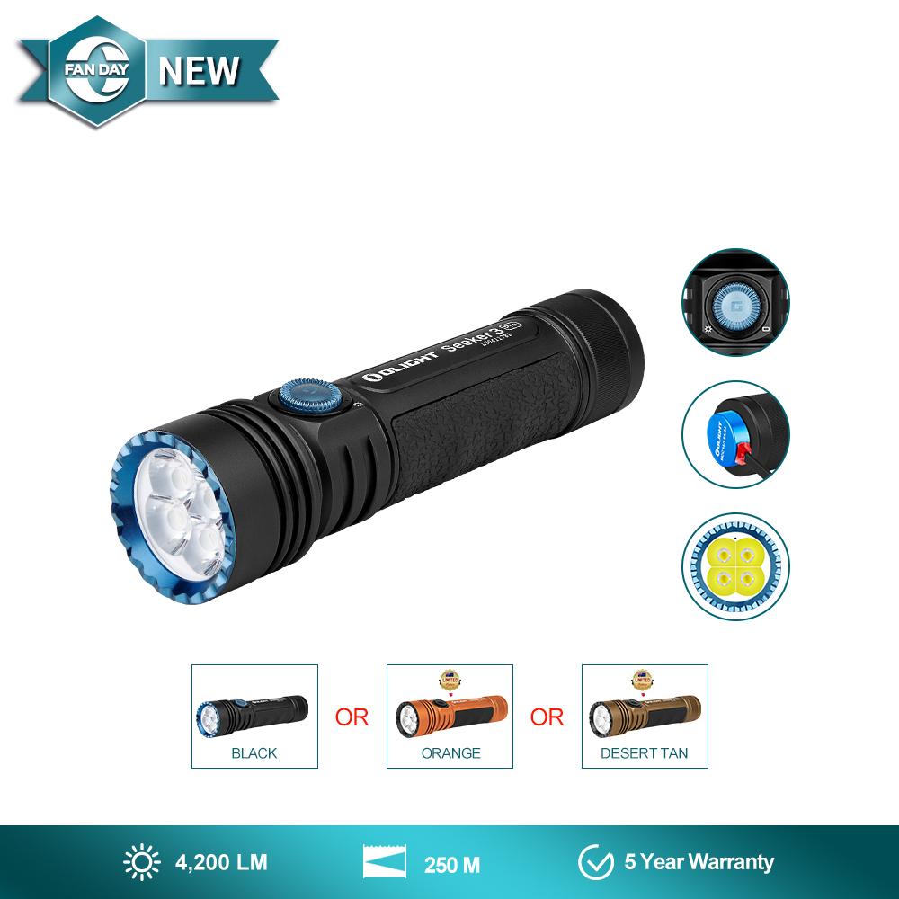 Olight Seeker 3 Pro max 4200 Lumens  flashlight