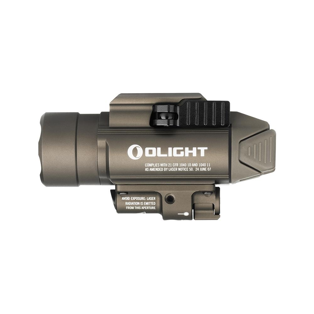 Olight BALDR RL Desert Tan 1120 lumens pistol light with red laser