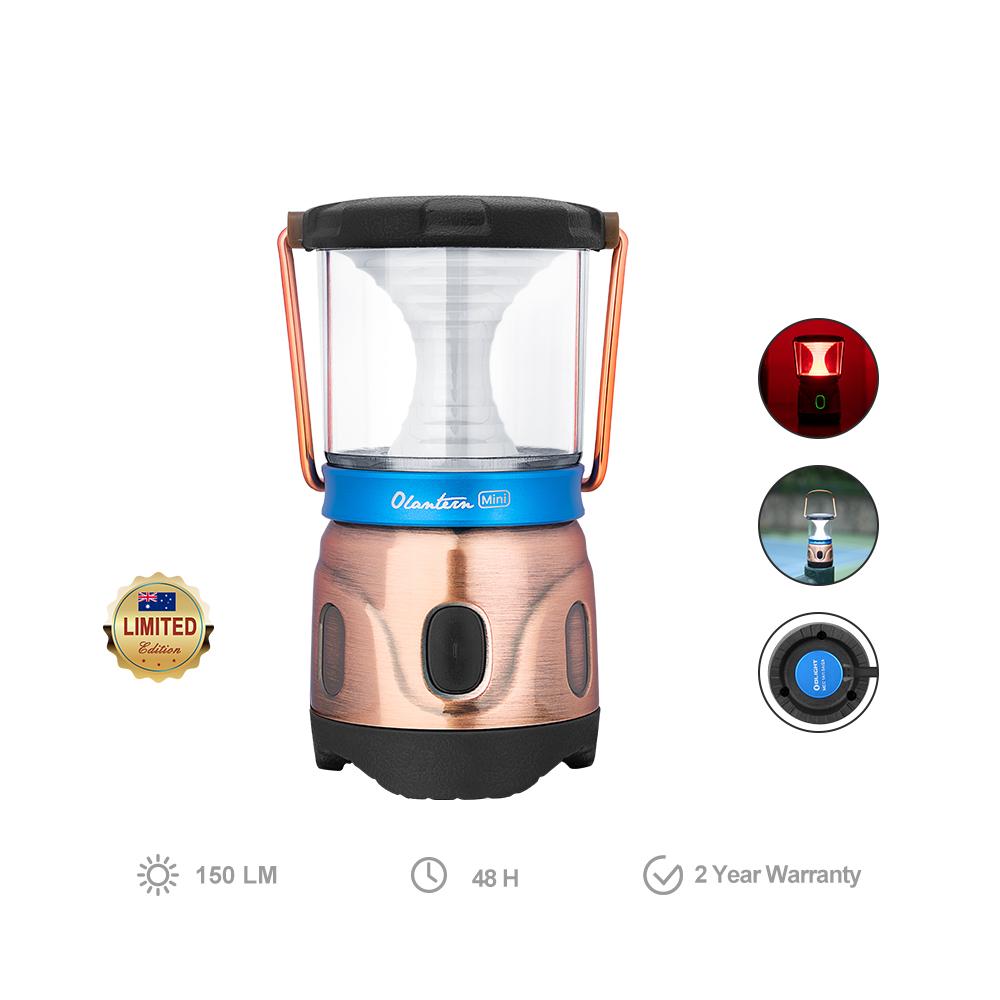 Olight Olantern mini LED Rechargeable Lantern Antique Bronze Limited Edition