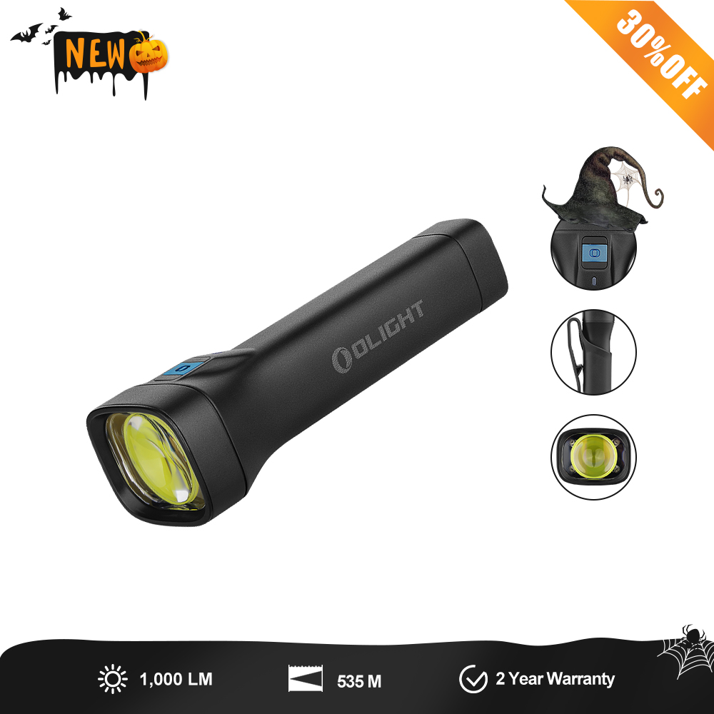 Archer - 1000 Lumen Long Distance Torch with 21700 Battery