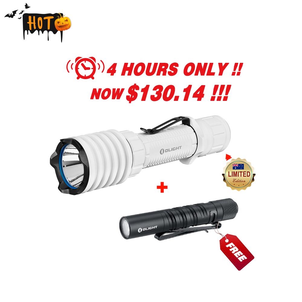 Olight Limited Sale : Warrior x pro white+ I3T black Bundle