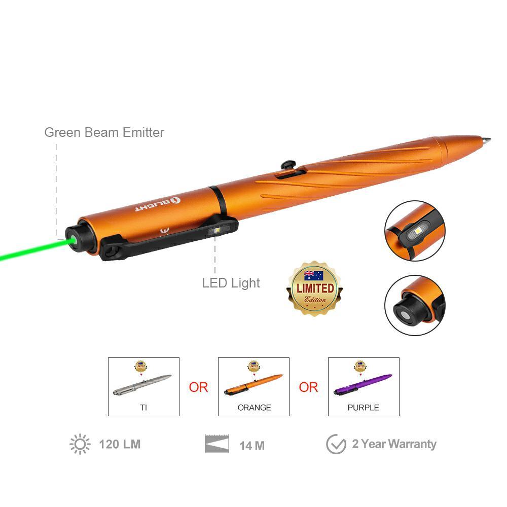 Olight Open Pro Ti or Orange or Purple Limited Edition Pen Light