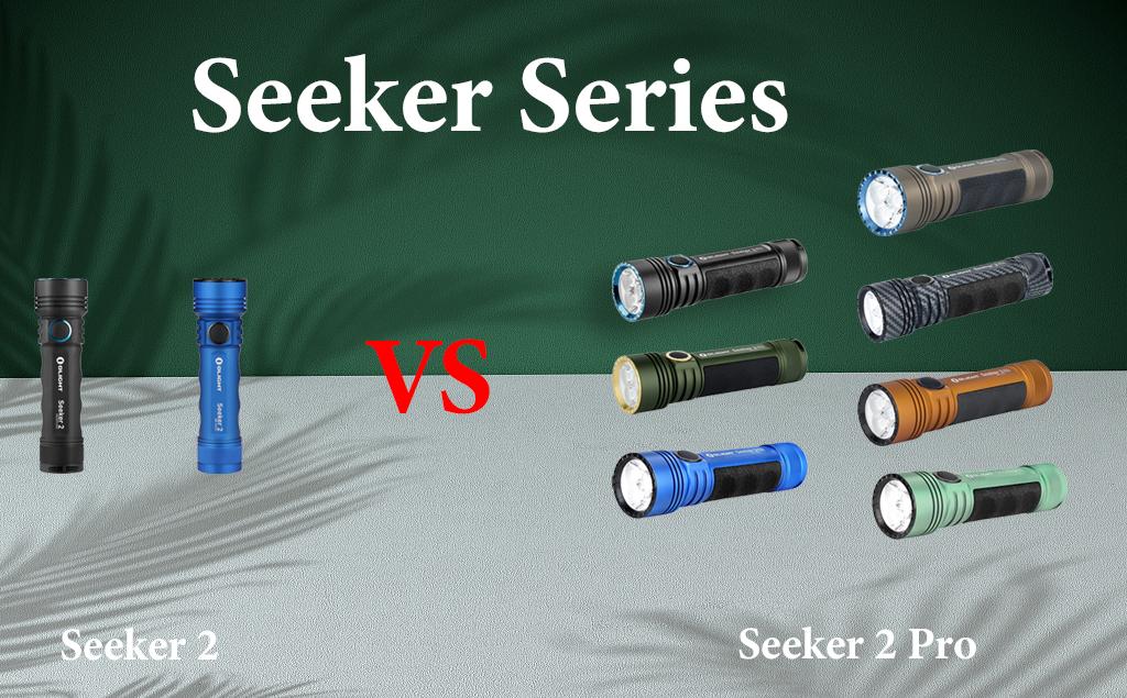 Seeker 2 VS Seeker 2 Pro: Rechargeable Side-switch LED Flashlight
